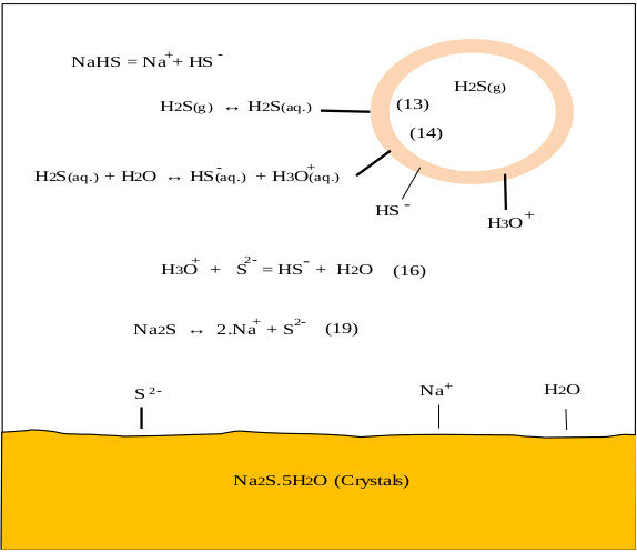 Industrial Manufacturing of Aqueous Solutions of Sodium Sulfhydrate
