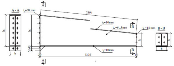 Behavior of Steel Welded Tapered Beam-column ~ Fulltext