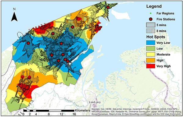 Forest Fire Risk Assessment Using Hotspot Analysis In Gis Fulltext