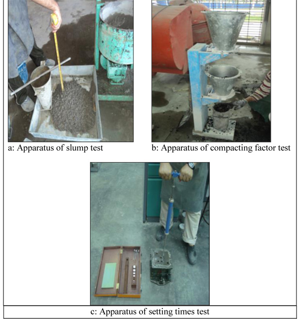 Workability, Setting Time and Strength of High-Strength Concrete