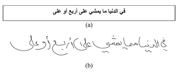Online-KHATT: An Open-Vocabulary Database for Arabic Online