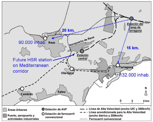Peripheral HighSpeed Rail Stations in Spain Fulltext
